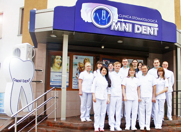 The team of dental clinic Omni Dent