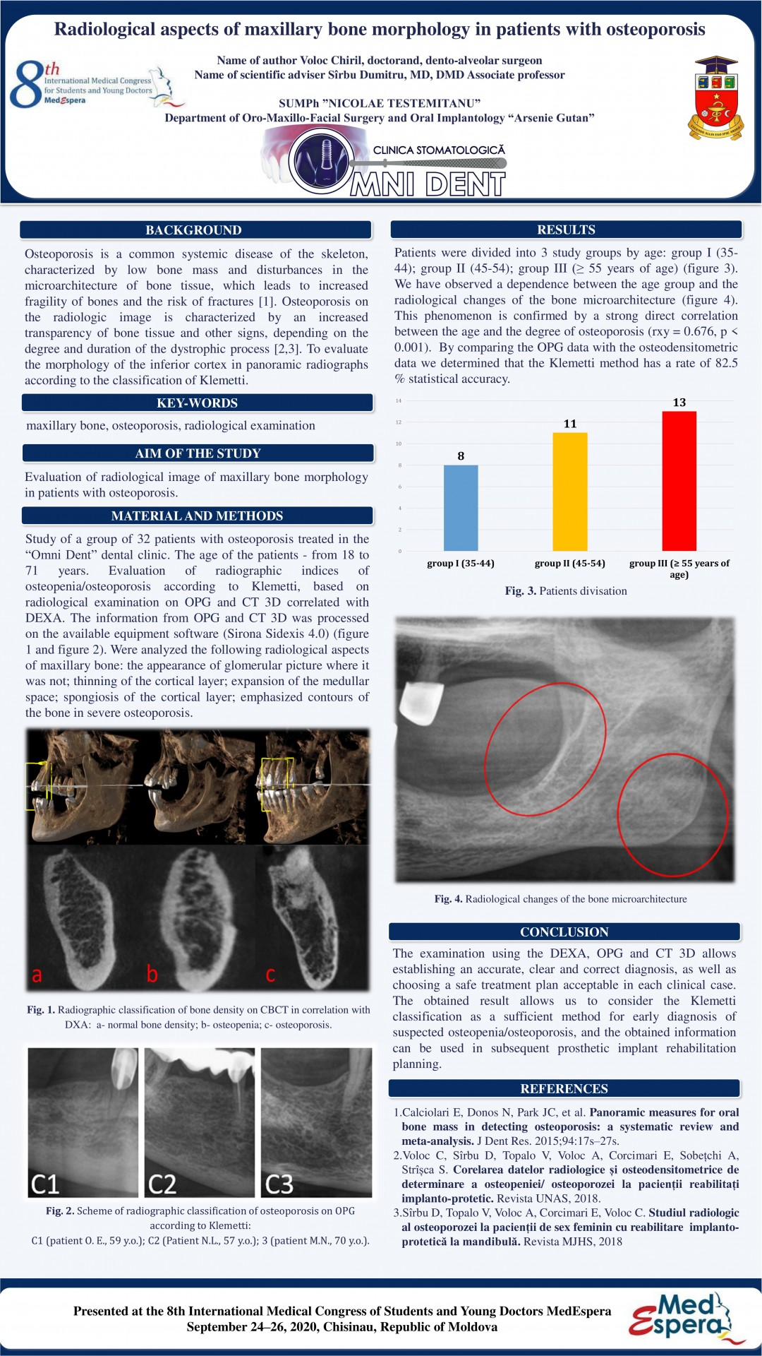 Radiological aspects of maxillary bone morphology in patients with osteoporosis