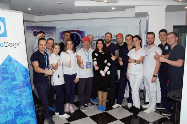 New workshop at the «Omni Dent» Clinic at the ImplantoDays Chisinau Congress 2019