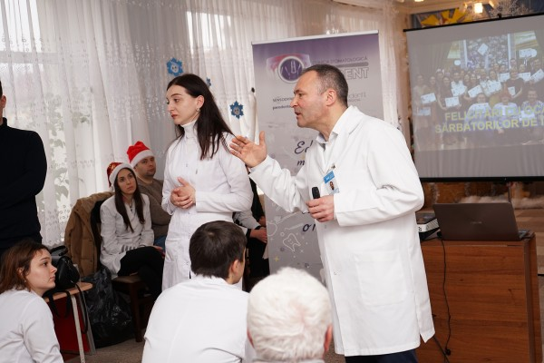 Surgeon Dumitru Sîrbu: «We better prevent than we treat» - an exhortation for the citizens from the village of Taraclia