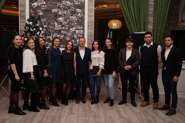 New Year's Eve, 2019, of the team of the dental clinic «Omni Dent»